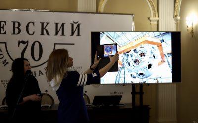 Финальные соревнования в Петербургском Доме журналиста